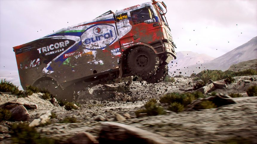 dakar 18 rushes onto ps4 xb1 and pc september 11. Black Bedroom Furniture Sets. Home Design Ideas
