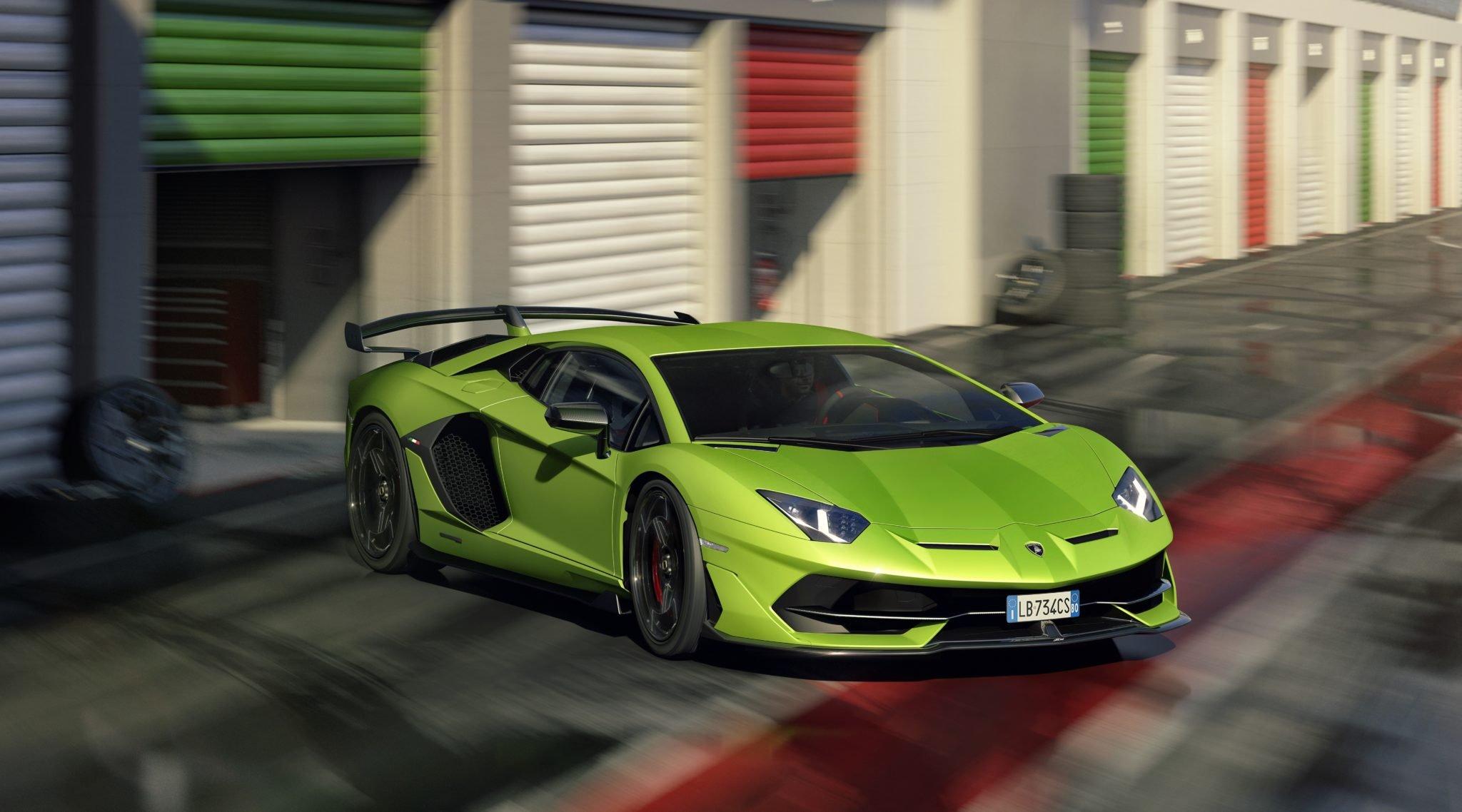 Raging Bull Unhinged Meet The Lamborghini Aventador Svj At Last