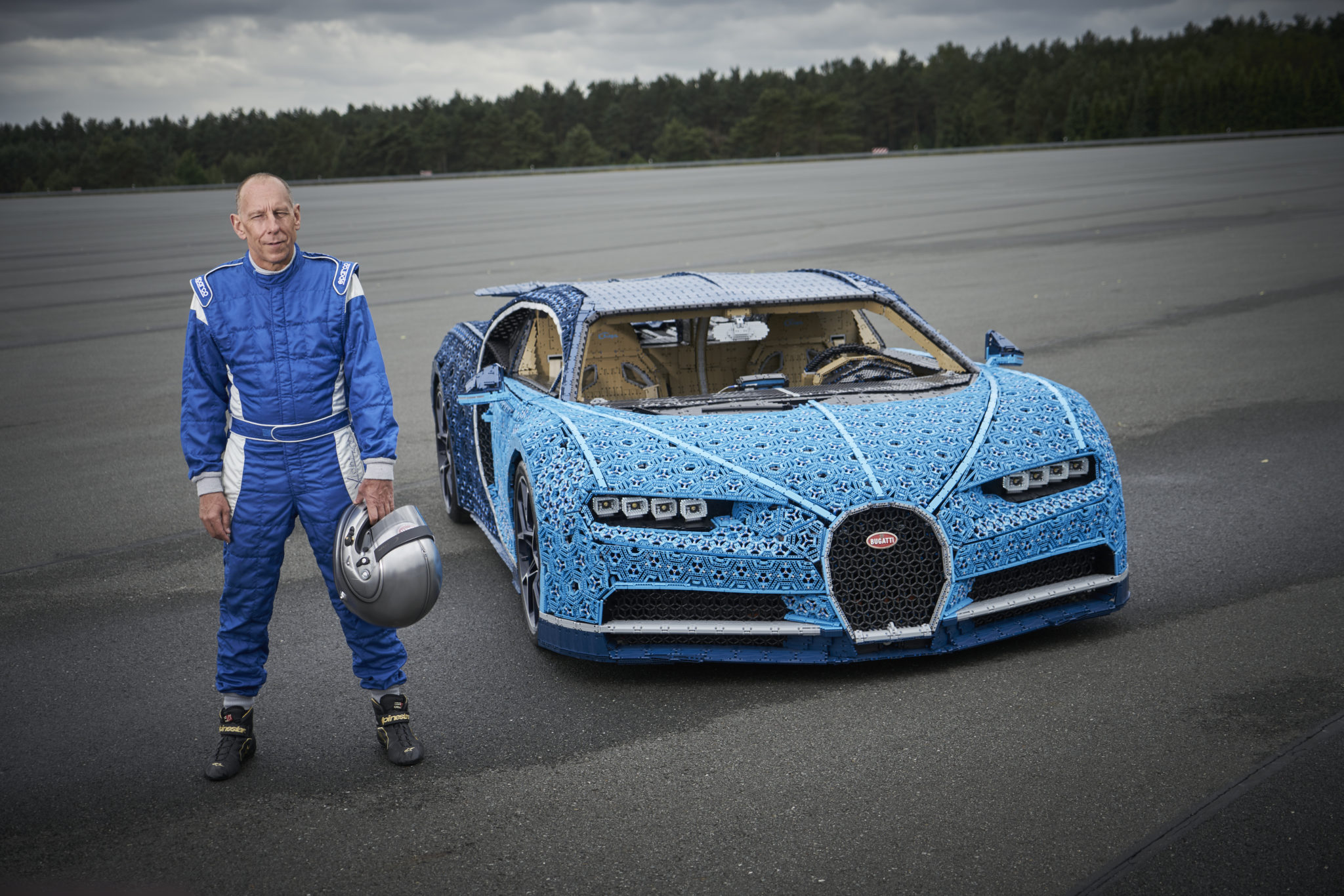 Lego Makes A One Million Piece Bugatti Chiron And Then Drives It