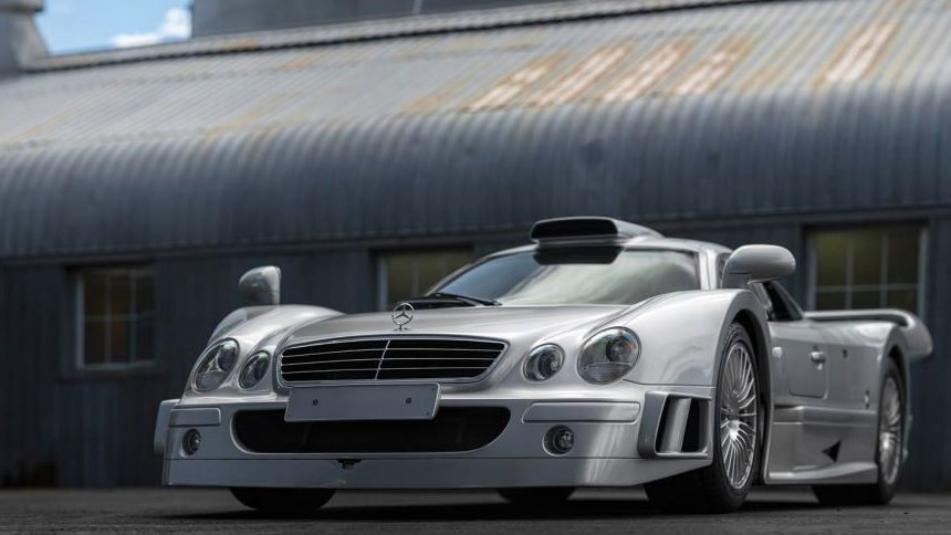 Fulfill Your Race Car Dreams On The Road With This Mercedes