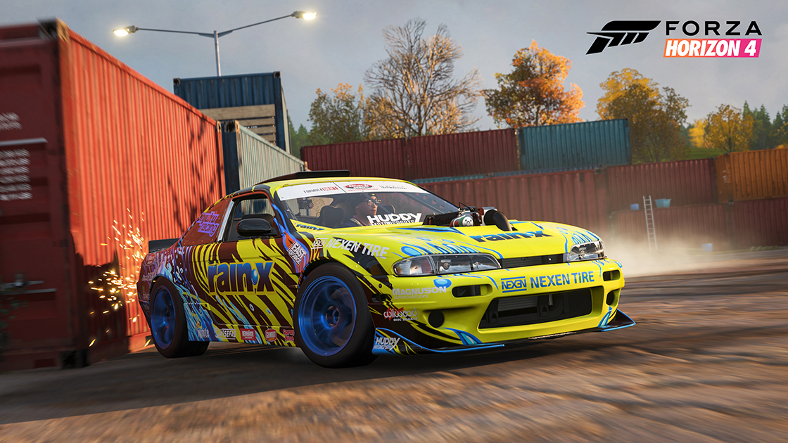 forza horizon 4 39 s formula drift car pack slides into the. Black Bedroom Furniture Sets. Home Design Ideas