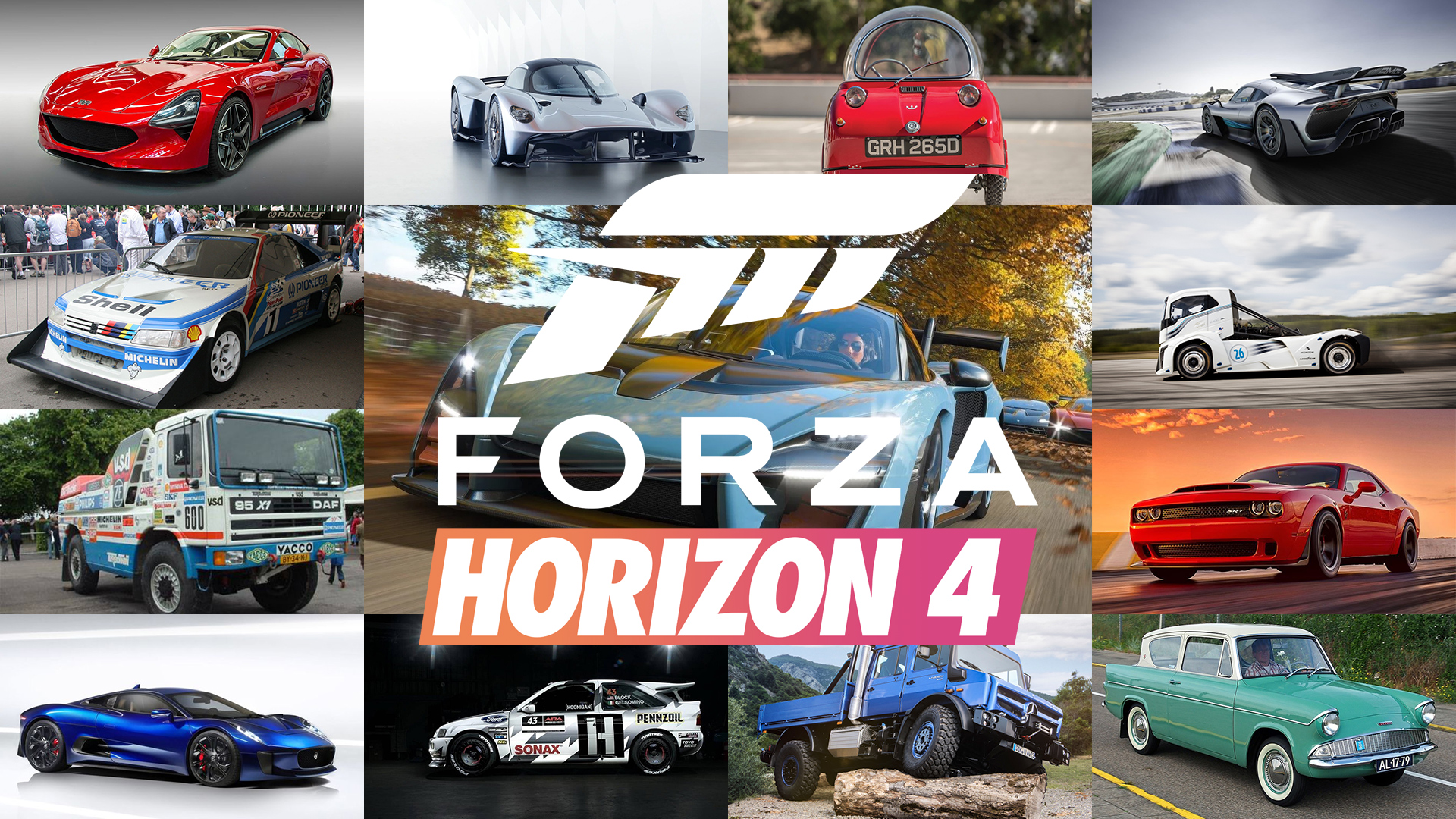 Fh4 Car List is this the full car list for forza horizon 4?