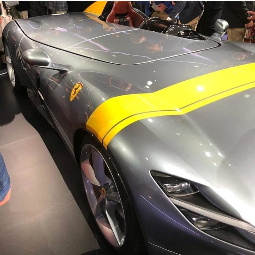 Ferrari Monza: Instagram Post Captures The Upcoming Ferrari Monza SP1 And SP2