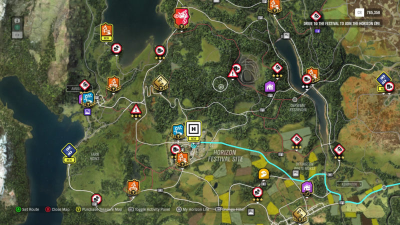 Forza Horizon 4 Review: The King Comes Home on wasteland 2 map size, test drive unlimited 2 map size, burnout paradise map size, star citizen map size, forza horizon map size, the crew map size, destiny map size, minecraft map size,