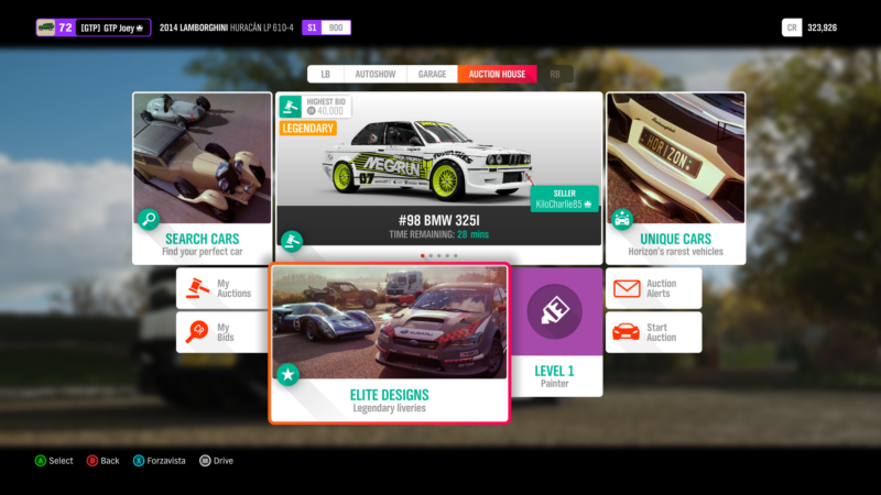 Wheeling and Dealing: How to Master the Forza Horizon 4 Auction House