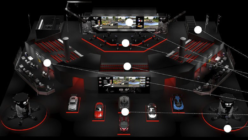 28,000 Sq. Ft Gran Turismo Theater Built for FIA EMEA Regional Finals in Madrid