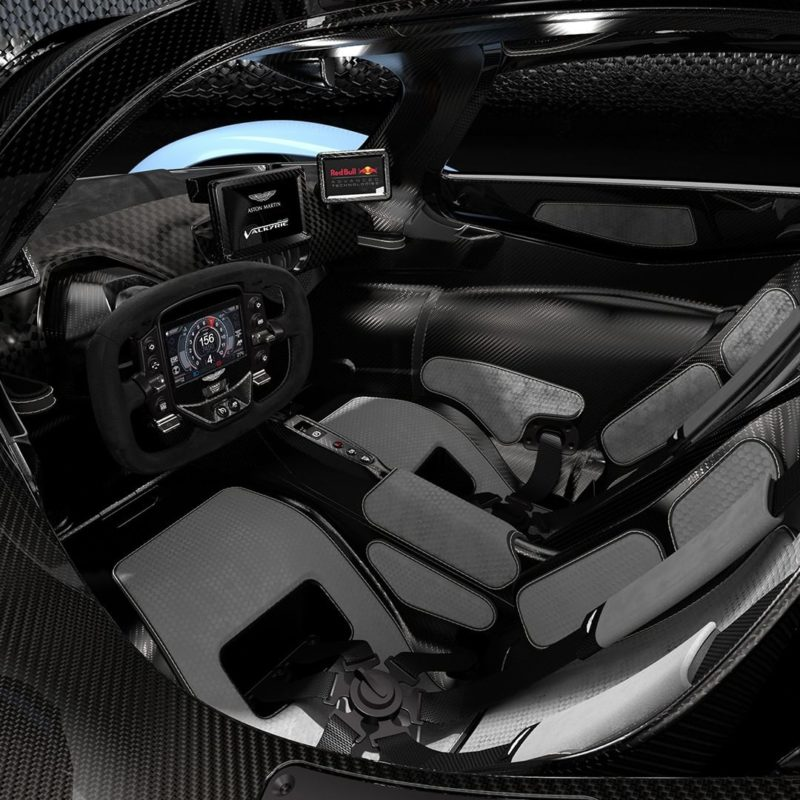 Aston Martin Reveals Valkyrie's Interior In New Official