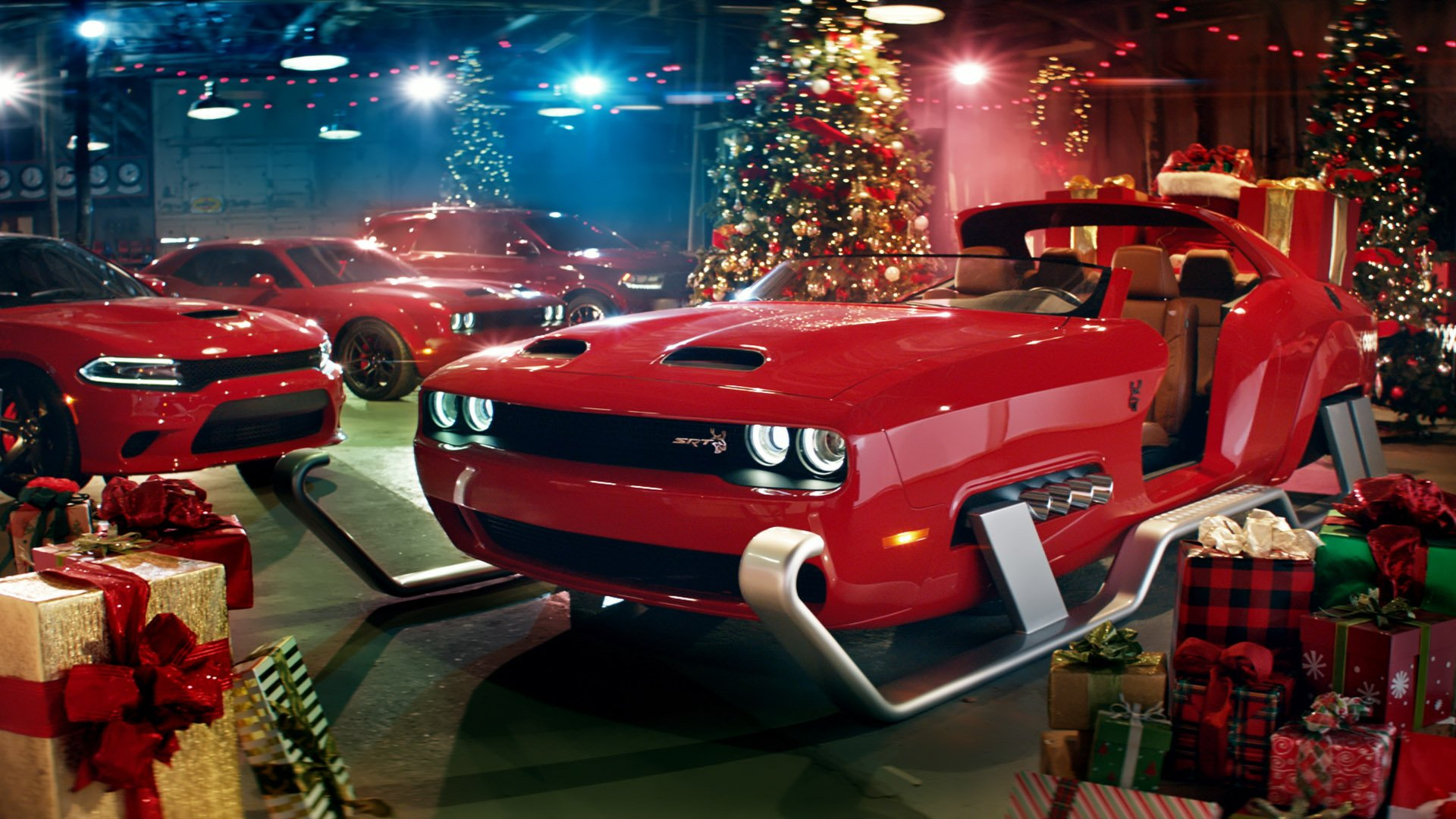 Dodge Embraces The Naughty List With Hellcat Red Eye