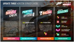 Forza Horizon 4 Service Check Brings New Paint/Wheel Options and QOL Fixes, Arrives Later This Month