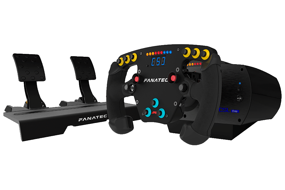 fanatec reveals csl elite f1 kit for ps4 and pc. Black Bedroom Furniture Sets. Home Design Ideas