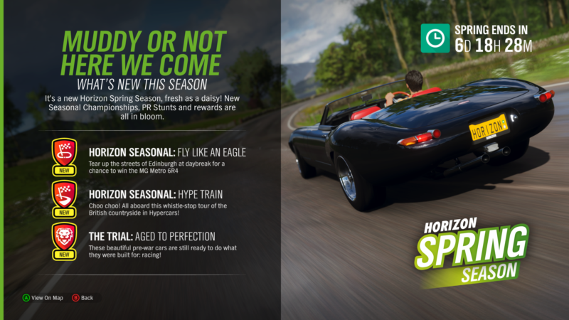 Spring is in The Air Once More in Latest Forza Horizon 4