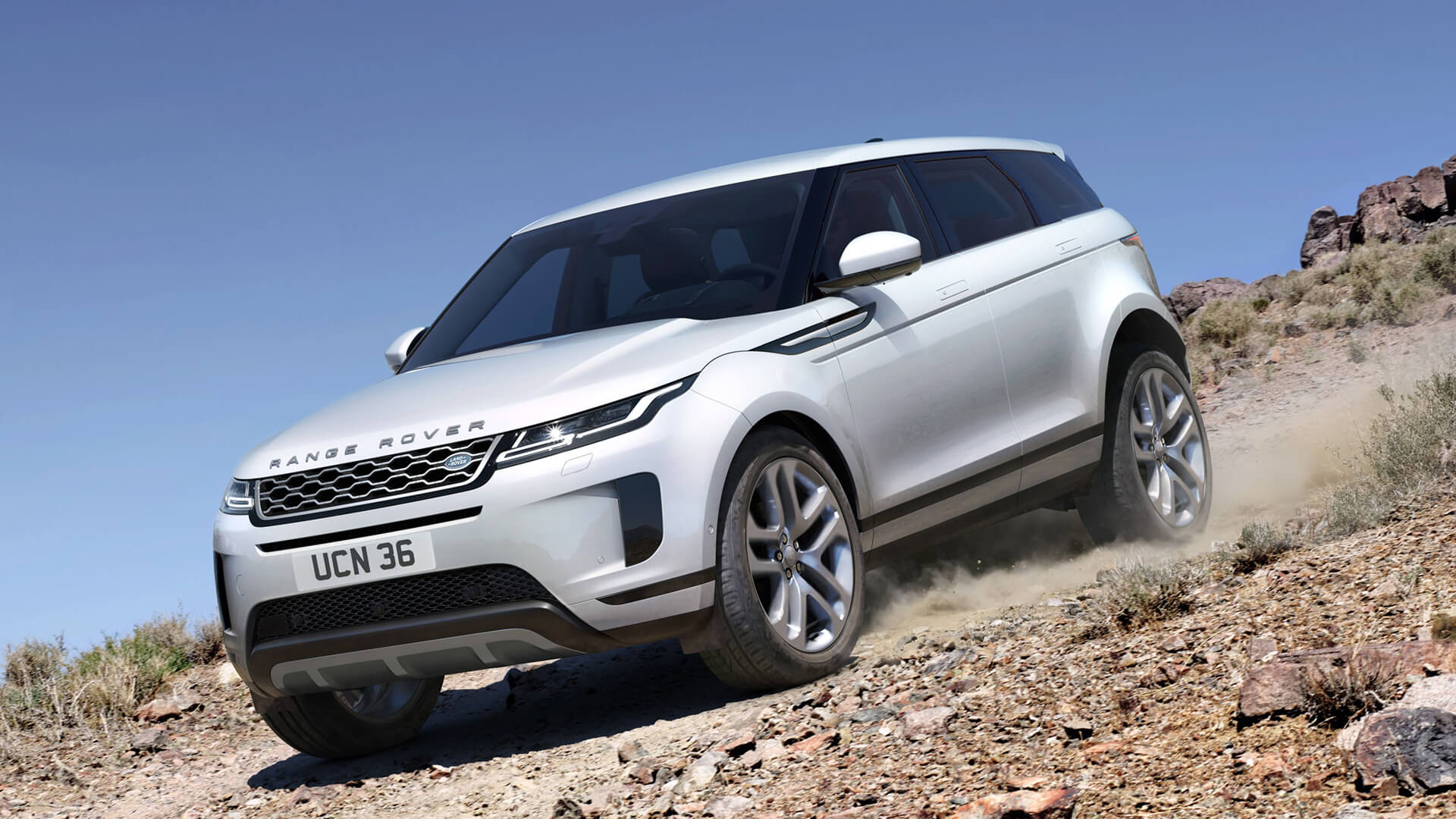 land rover unveils the new tech laden range rover evoque suv. Black Bedroom Furniture Sets. Home Design Ideas