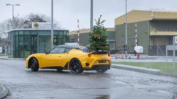 Lotus is Drifting Home for Christmas With the Evora 410