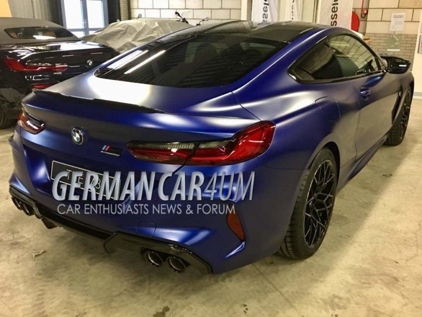 Bmw M8 Coupe Leaked Ahead Of 2019 Reveal