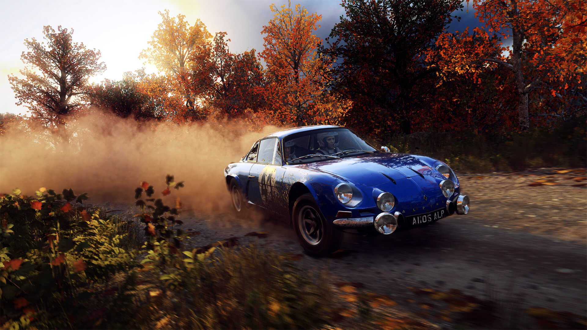 dirt rally 2 0 videos screenshots new cars new locations stage degradation. Black Bedroom Furniture Sets. Home Design Ideas