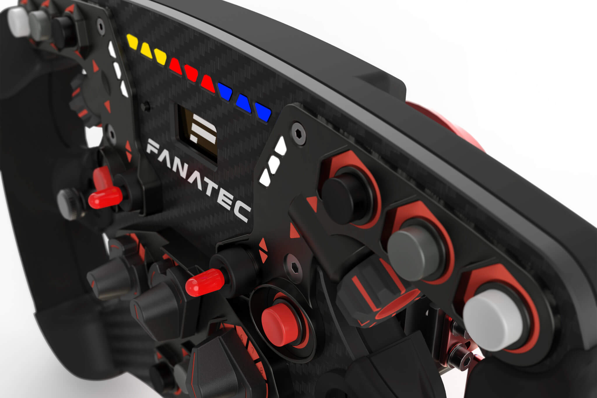 fanatec reveals new clubsport steering wheel formula v2. Black Bedroom Furniture Sets. Home Design Ideas