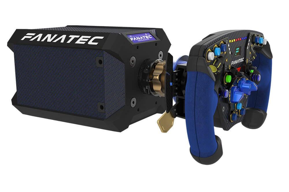 fanatec reveals ps4 compatible direct drive podium racing. Black Bedroom Furniture Sets. Home Design Ideas