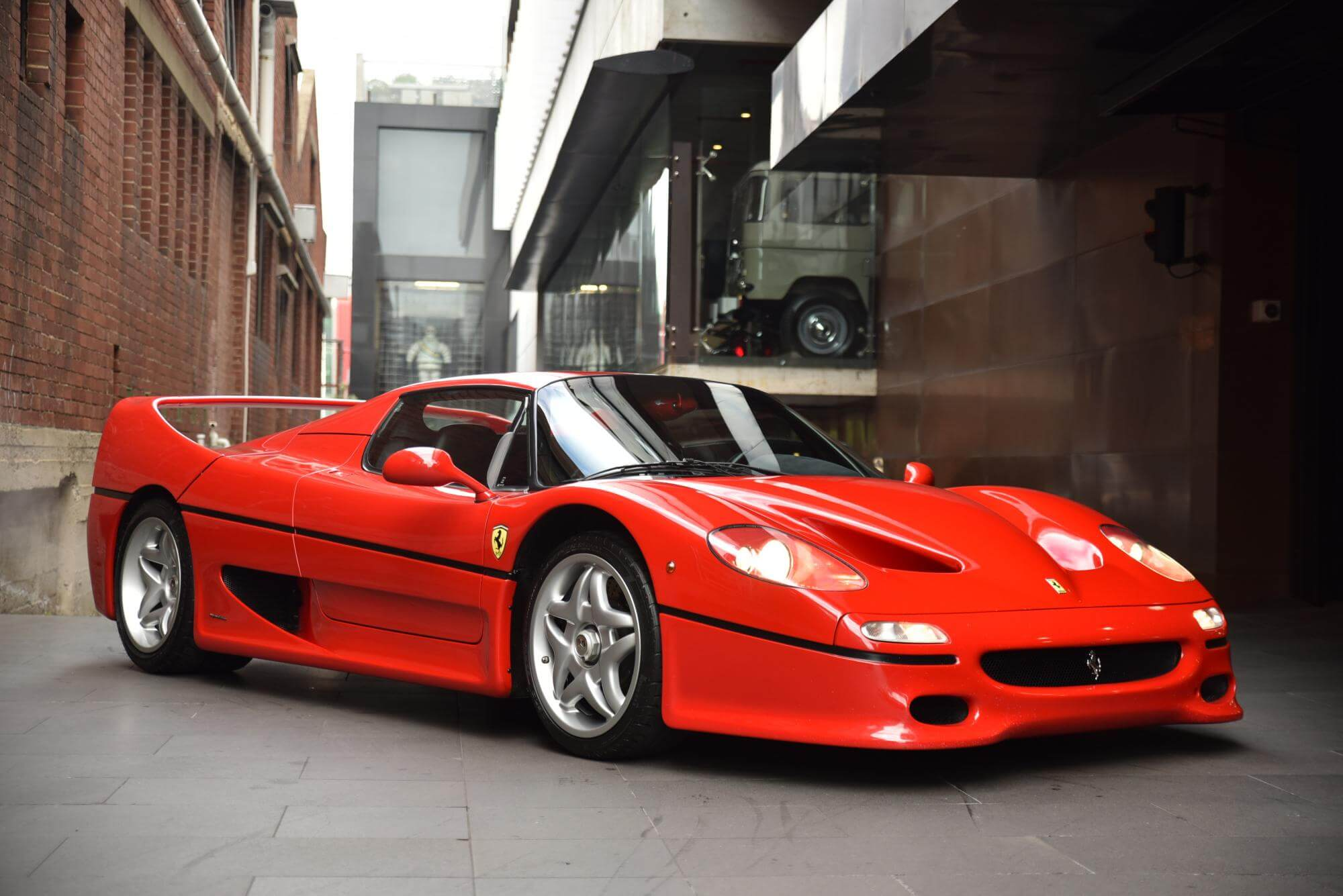 Ferrari F50 For Sale >> The Ferrari F50 Is a Prancing Horse Surrounded by ...