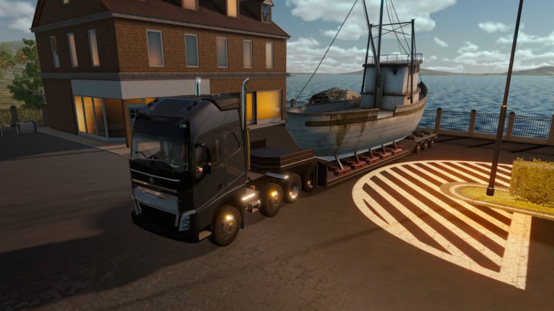 Truck Driver Rolls Out New Gameplay Trailer; Coming to Consoles and PC Soon