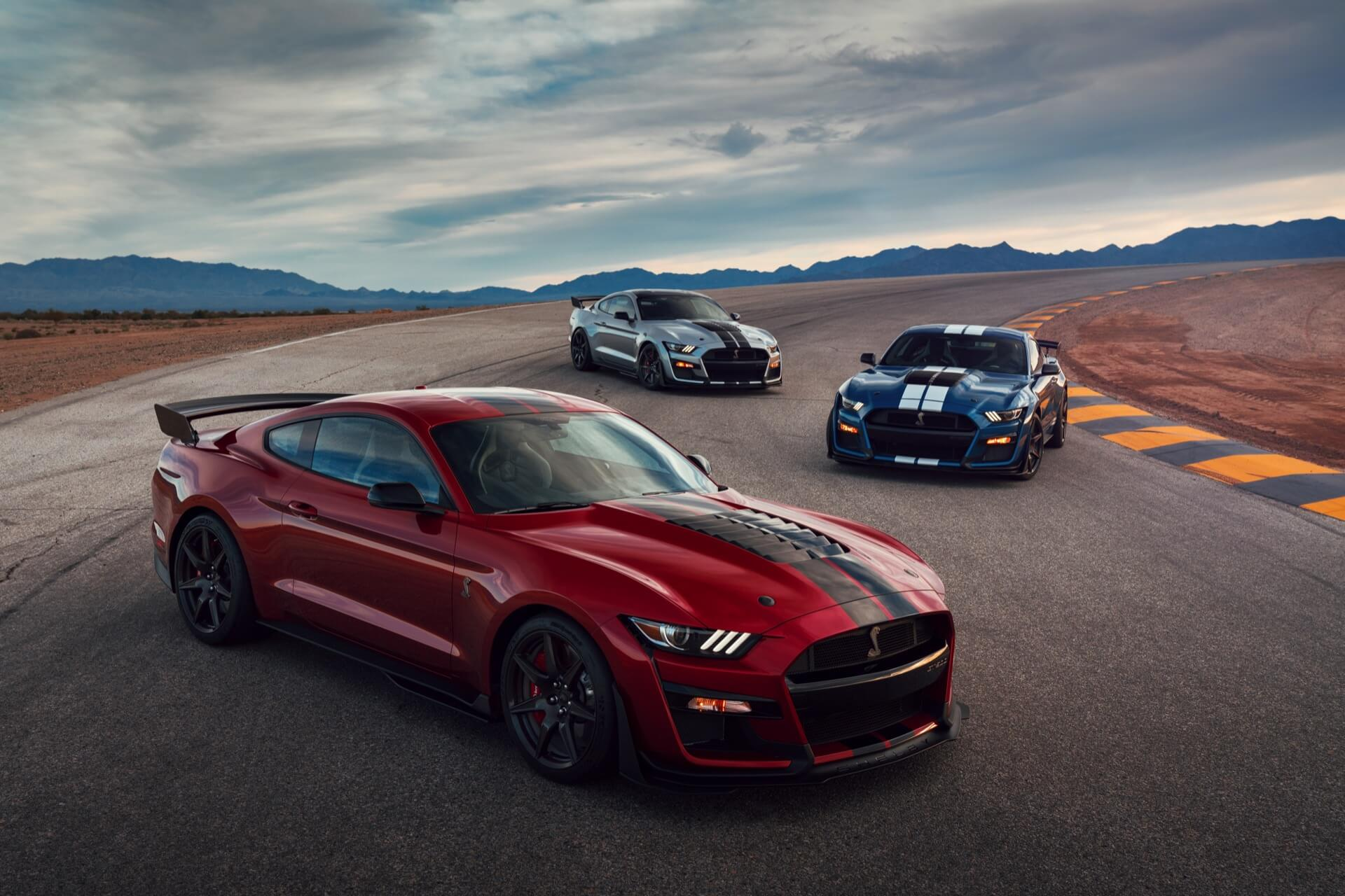 The 2020 ford mustang shelby gt500 is the most powerful production blue oval car ever