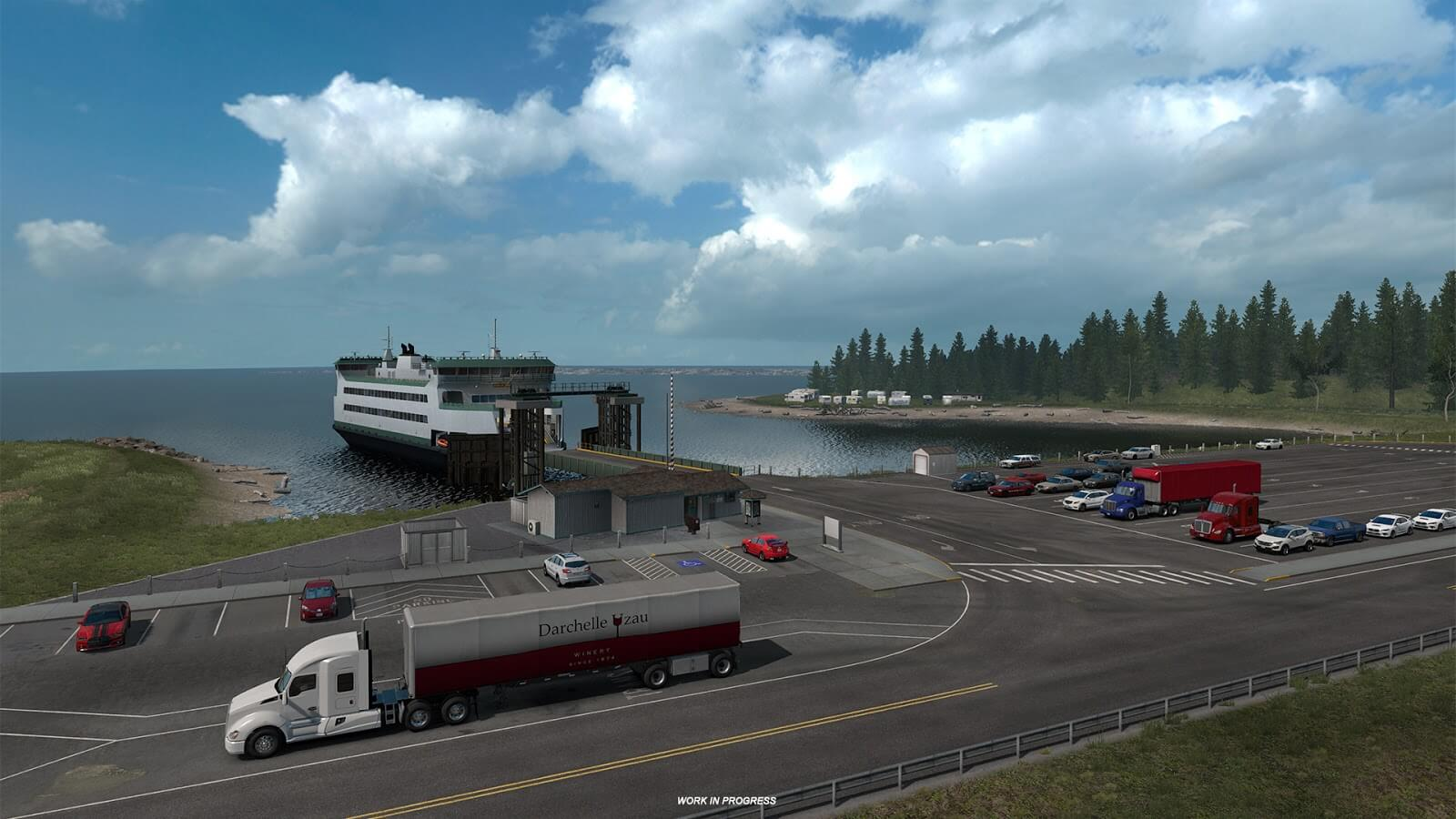 American Truck Simulator Will Venture Into Washington for