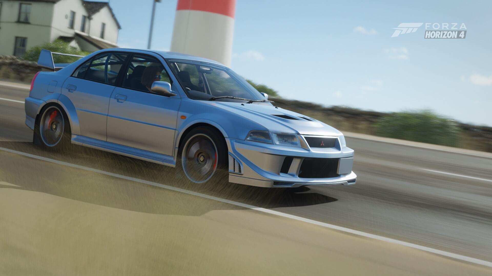 Forza Horizon 4 Season 5 Update Now Available: Mitsubishis, New