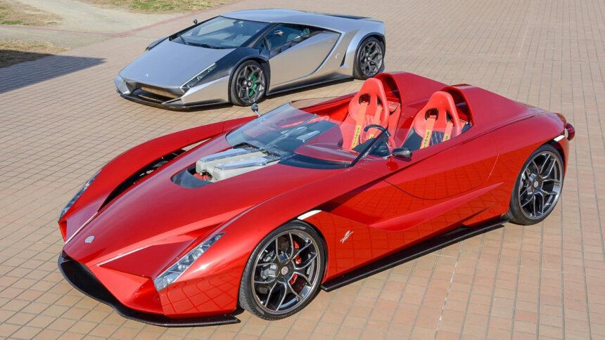 Own a Pair of Wild Coachbuilt Supercars From Designer Ken Okuyama