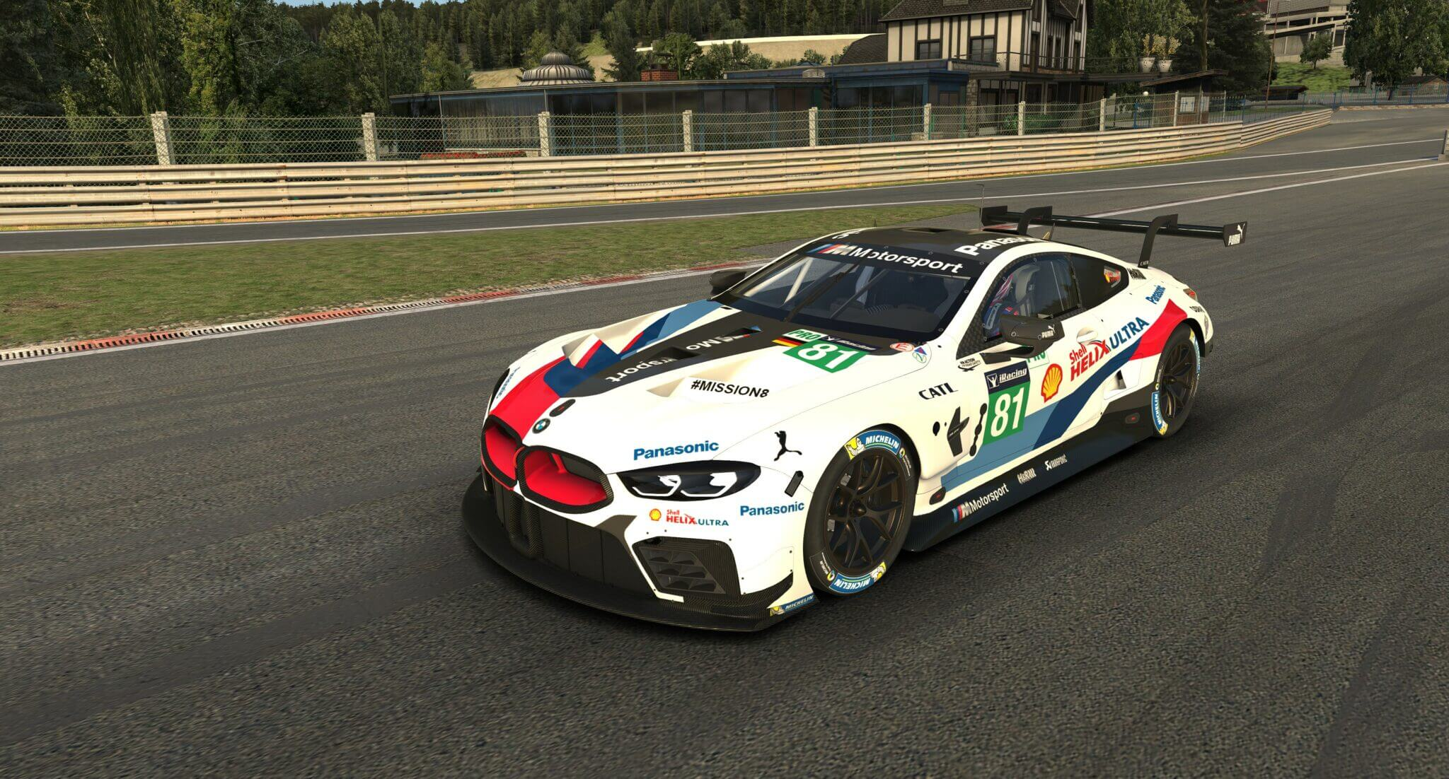 BMW M8 GTE Coming Soon to iRacing