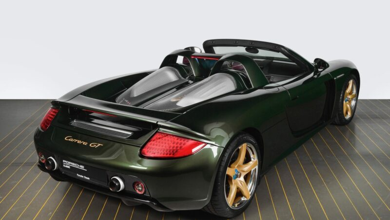 This Restored Porsche Carrera GT Is Now a Bespoke One-Off