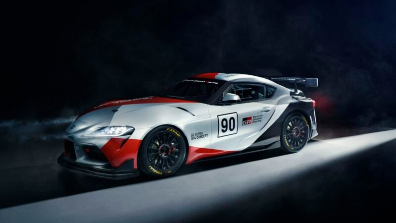 Toyota Reveals Yet Another Supra Race Car Concept