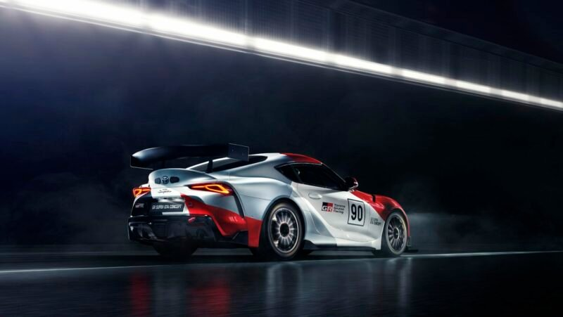 Toyota Supra GT4 Concept previews a possible customer race auto