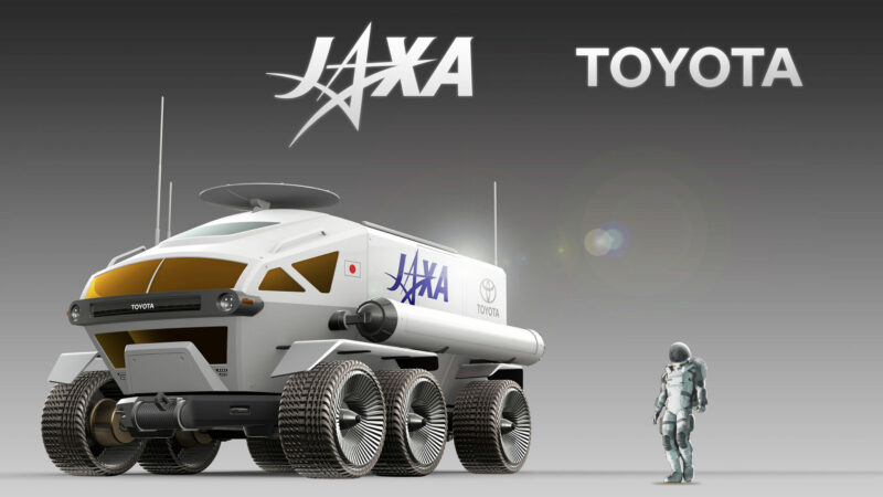 JAXA and Toyota to jointly develop manned Lunar Rover