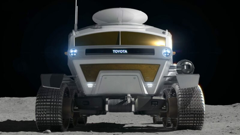 Toyota is working on a moon rover