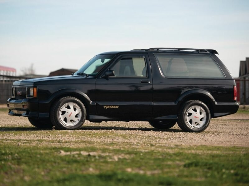The Gmc Typhoon Was The Start Of The Performance Suv Craze