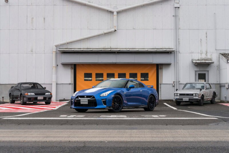 Nissan's GT-R 50th Anniversary Edition Is a Thing of Beauty