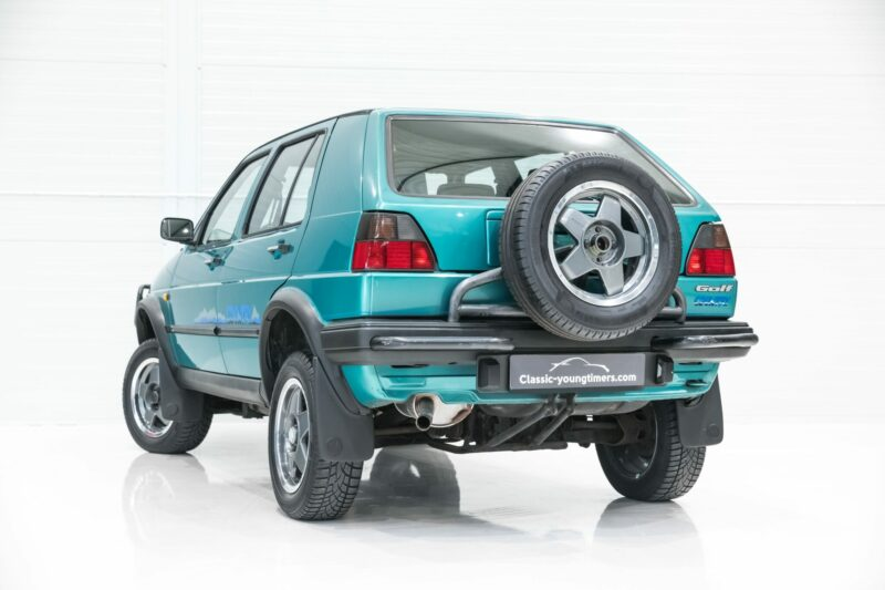 Celebrate 45 Years of the Volkswagen Golf with This 4x4