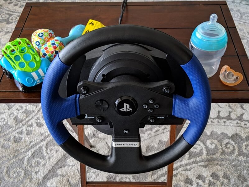 The Thrustmaster T150 Review: New Dad, New Take on Sim Racing