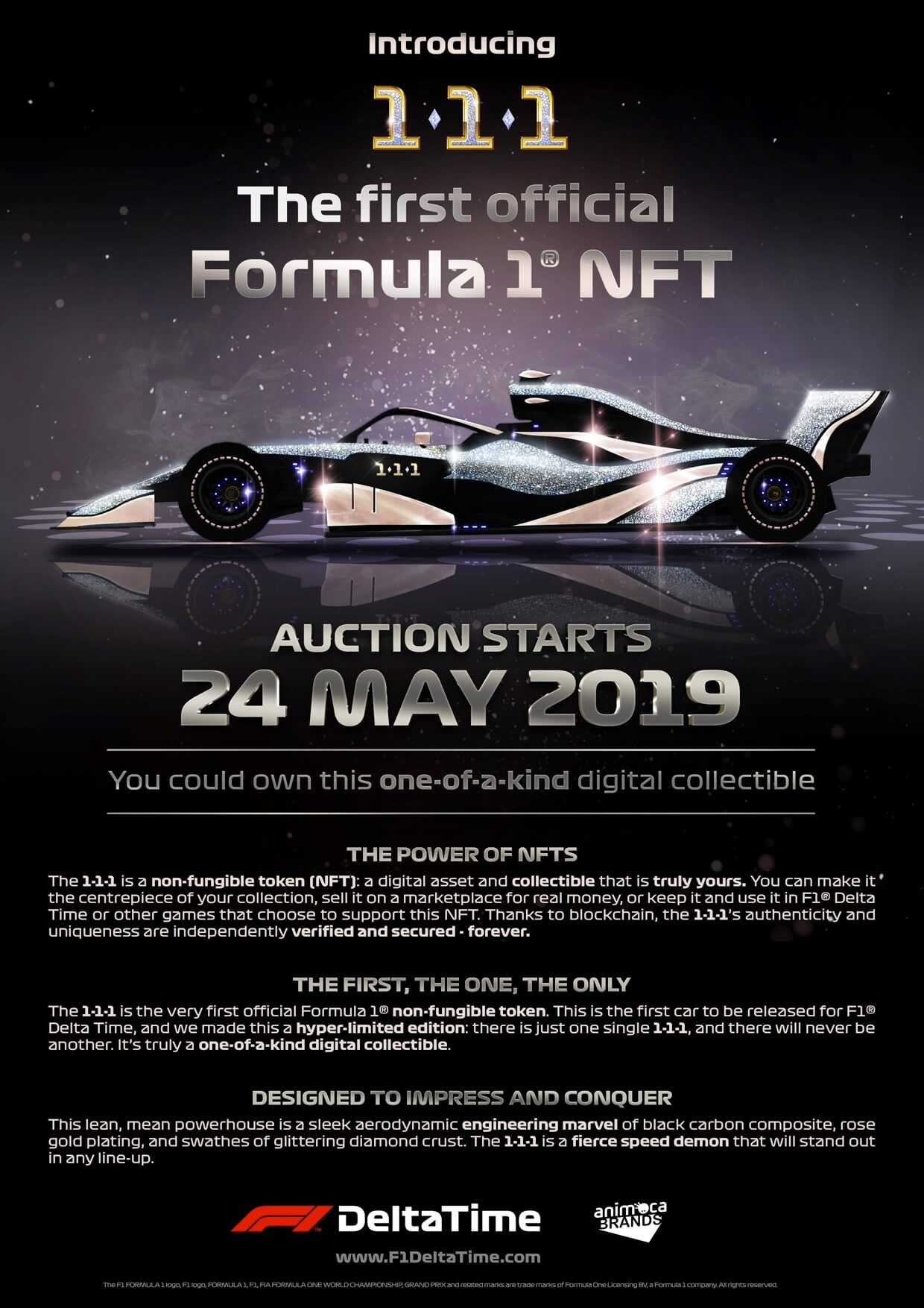 Somebody Paid $101,336 For A Virtual F1 Car