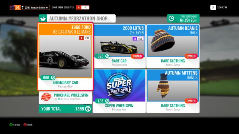 This Week's Forza Horizon 4 Season Change: Autumn Welcomes a