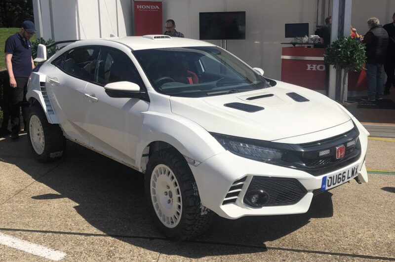 honda builds a civic type r rally car and you can buy. Black Bedroom Furniture Sets. Home Design Ideas