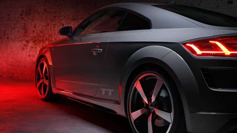 audi reveals tt quantum gray edition but you can only buy one online. Black Bedroom Furniture Sets. Home Design Ideas