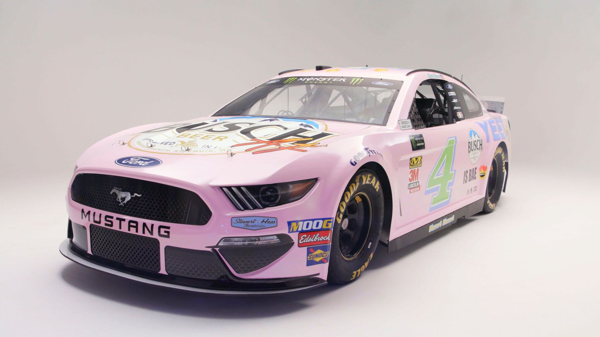 NASCAR's Millennial Mustang is Extra Try-Hard