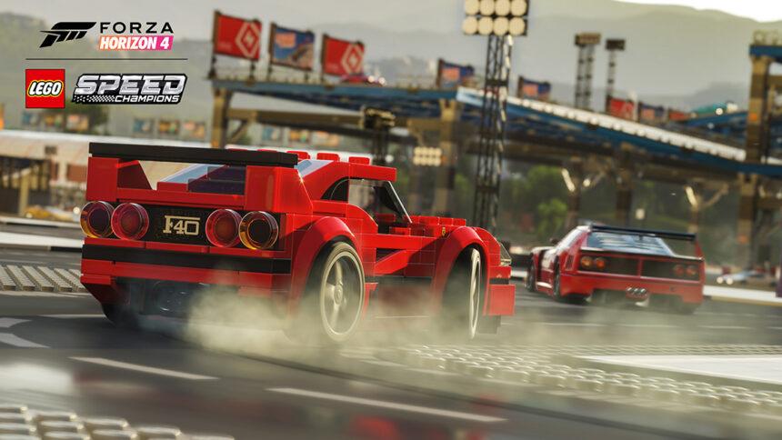 Live Stream: LEGO Speed Champions Arrives in Forza Horizon 4