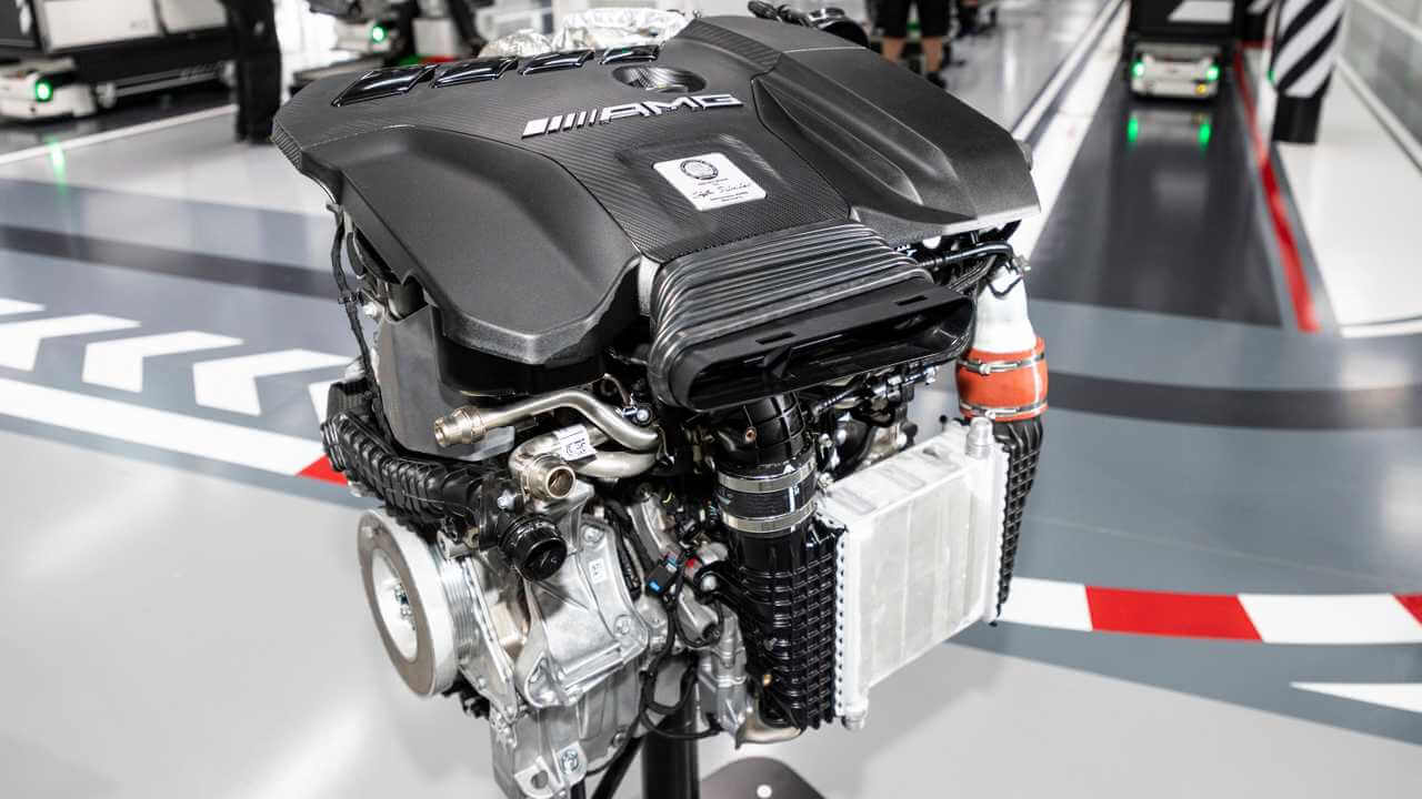 Meet AMG's M139, the Turbo Four-Pot Packing V8 Power