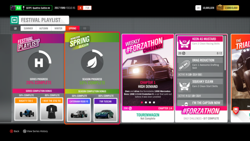 This Week's Forza Horizon 4 Season Change: A Classical Touch
