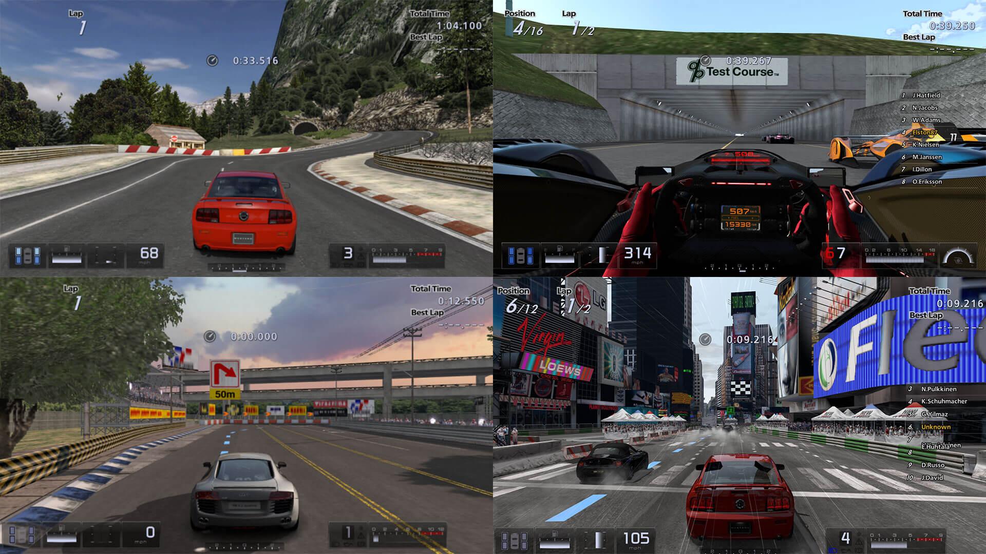 Gran Turismo 5: Gran Turismo 5 Includes Pretty Much Every Past GT Track