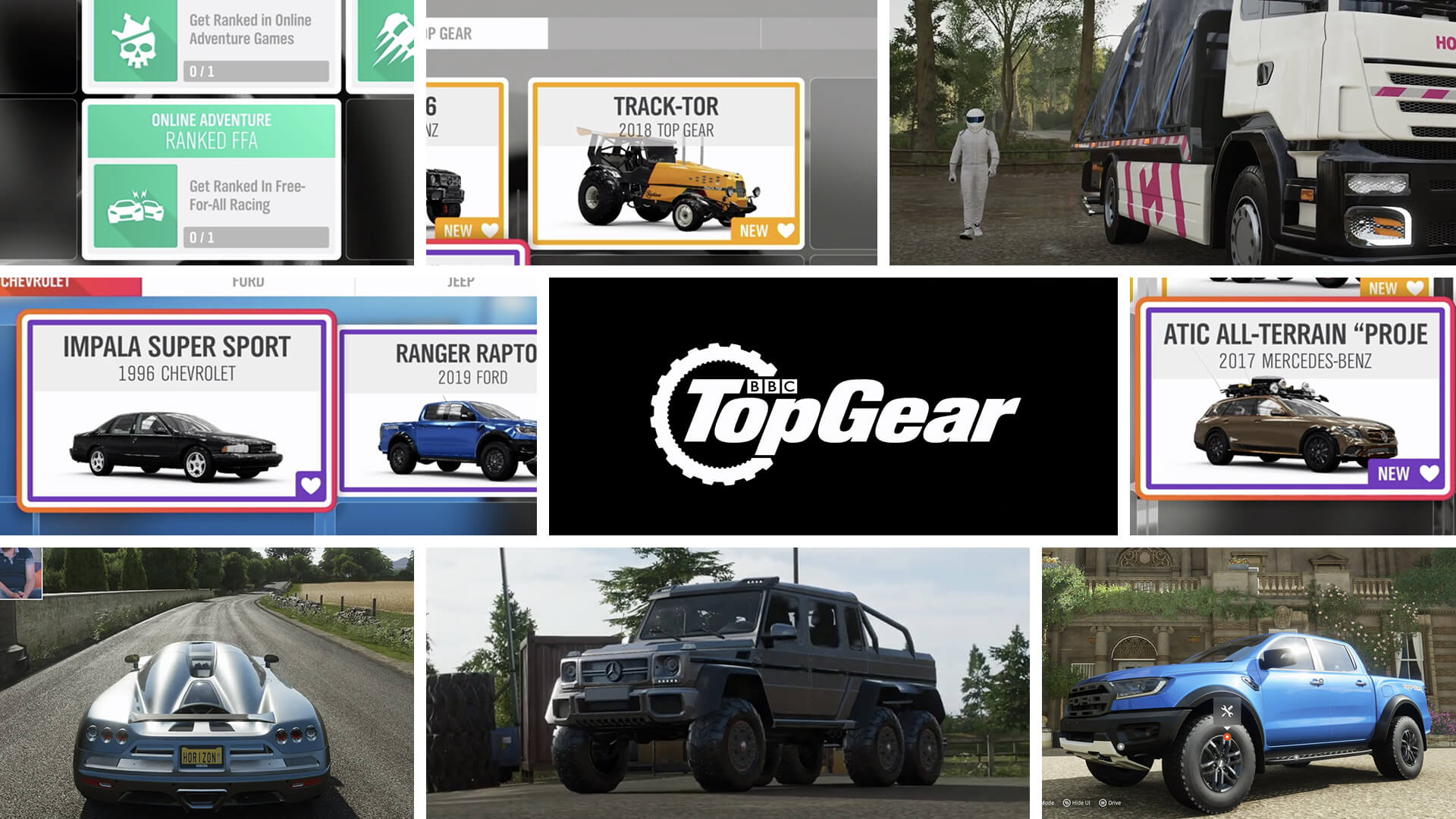 Forza Horizon 4 Series 11 Preview: Top Gear, Merc G63 6x6 and More