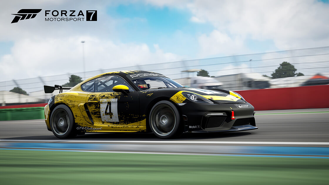 Forza Motorsport 7 August Update Now Available: Porsche 718 Cayman