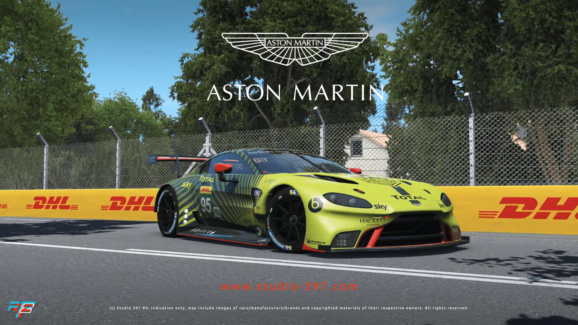First Look at rFactor 2's Aston Martin Vantage GTE Revealed
