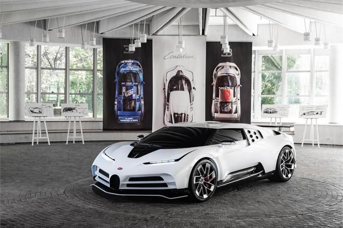 New Toyota Supra Price >> Bugatti's EB110-Inspired Centodieci Leaks Ahead of Pebble